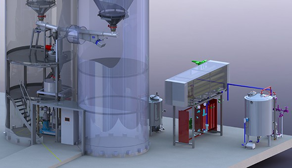 Engineering Solid Liquids plant