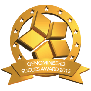 Nominatie Nationale Business Succes Award