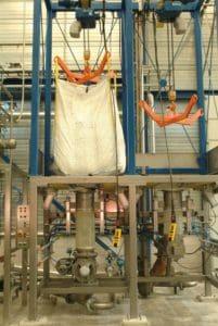 chemie big bag handling
