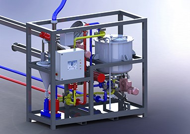 IKA oplosinstallatie vloeistof met poeder