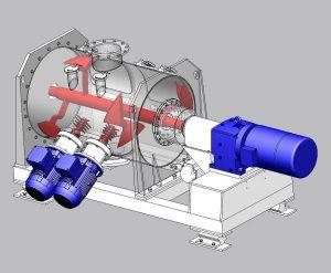 turbomix Ploegschaarmenger